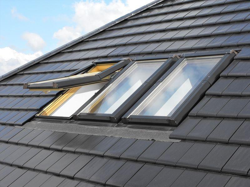 pvc kunststoff dachfenster skylight premium eindeckrahmen rollo. Black Bedroom Furniture Sets. Home Design Ideas